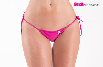DAPHNE Sensual Mini Bikini Triangle Thong Bottom