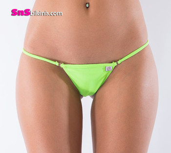 SELENA Tiny Mini Bikini String Bottom