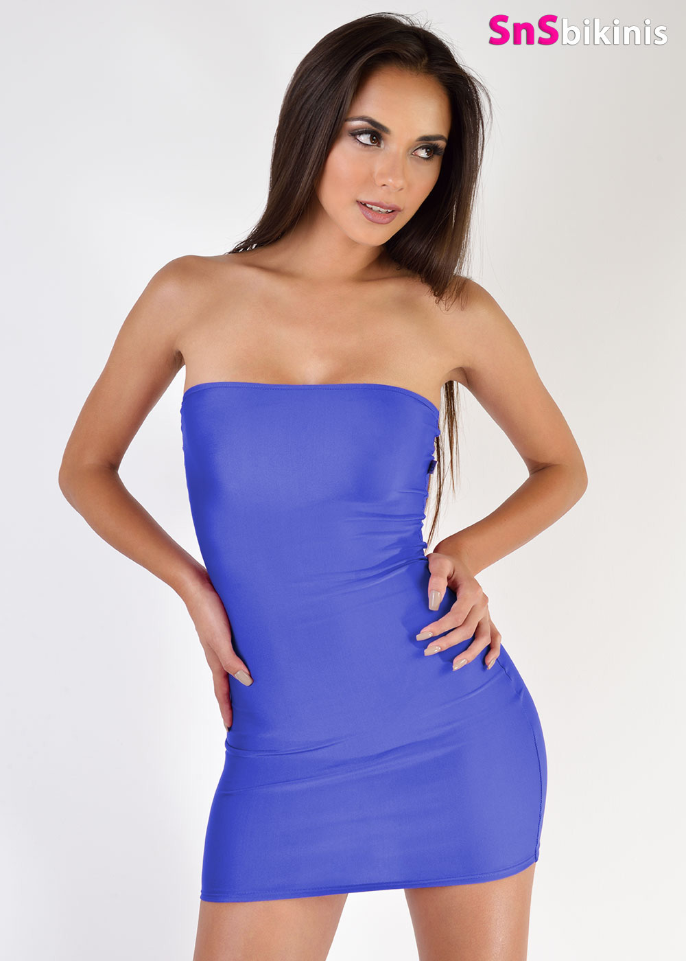 Strapless Micro Mini Dress