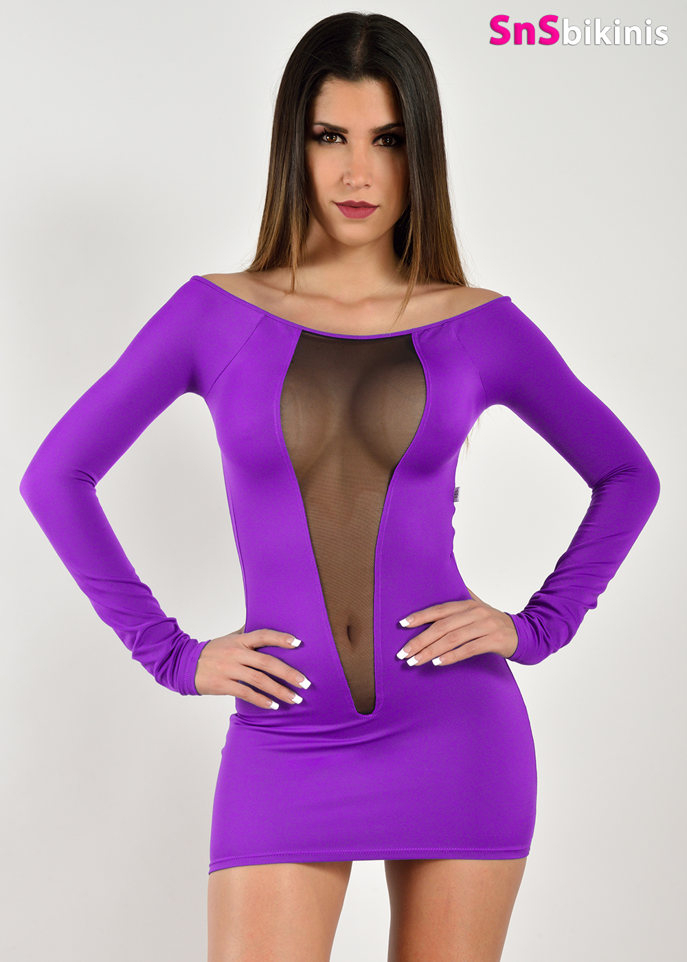 DIVA Very Sexy Night Sheer Mini Dress