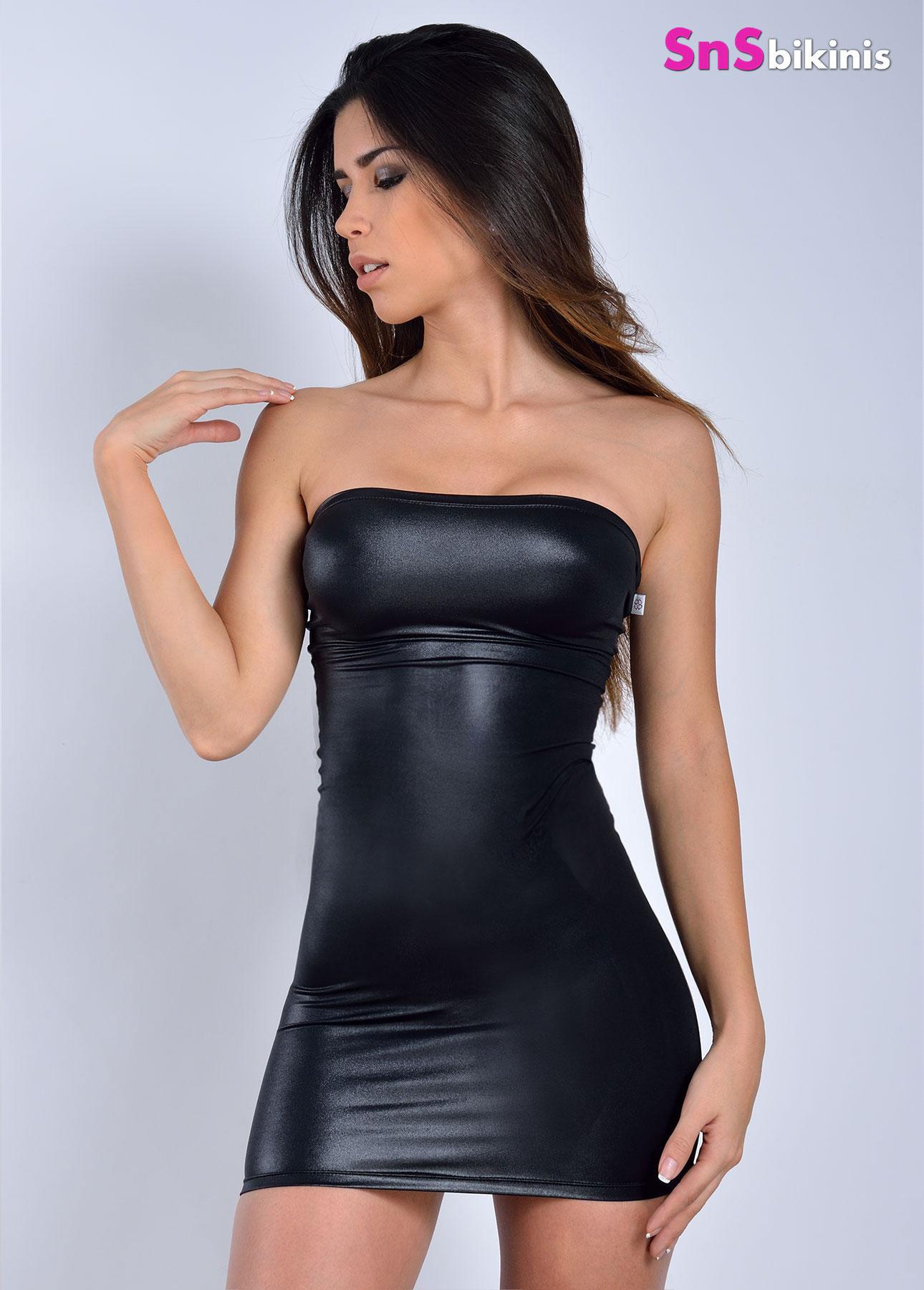 DARK NIGHT Sexy Mini Dress [STRAPPLESS DRESS] - $65.00 ...