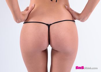 KITTY CAT Bottom String Thong