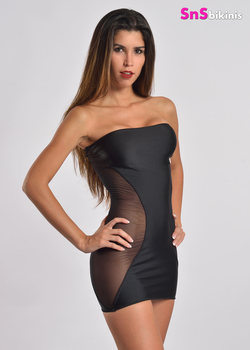 LUXURY Sensual Sheer Party Mini Dress