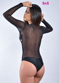SIRENA Hot Sheer Bodysuit
