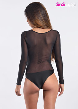 LADY New Sheer Longsleeves BodySuit