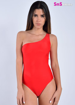 SPARTAN Super Sexy One Shoulder Swimsuit