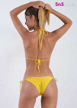 TROPICAL SUN Hot Scrunch Bikini
