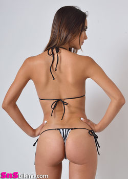 KEIRA Brazilian Triangle Thong Mini Bikini
