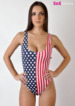 AMERICAN HOT SWIMSUIT