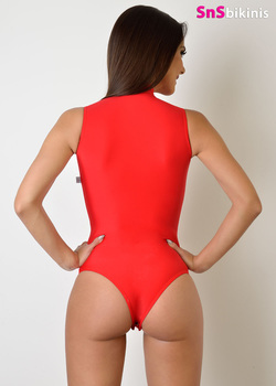 BRIDGET Hot High Neck One Piece Suit
