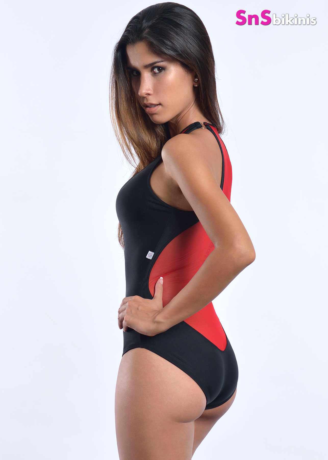 Coco Sexy Sheer Swimsuit Sheer Red Mesh Jarp003 69 00