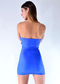 cosmopolitan strap mini dress strapless dress. Black Bedroom Furniture Sets. Home Design Ideas