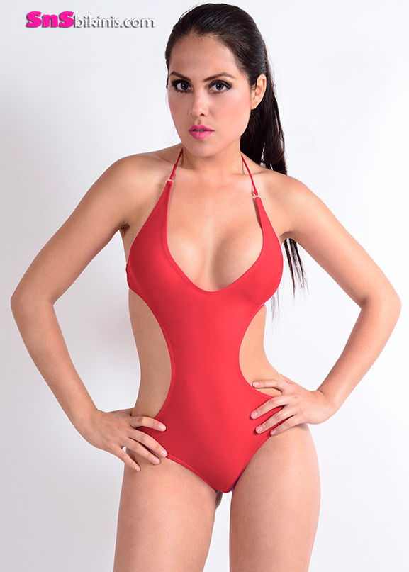 AMANDY Sexy One Piece Swimsuit
