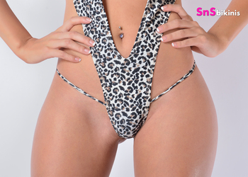 ELIXIR Sensual Animal Print Bathingsuit