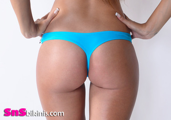 HAZEL Brazilian Thong Bottom