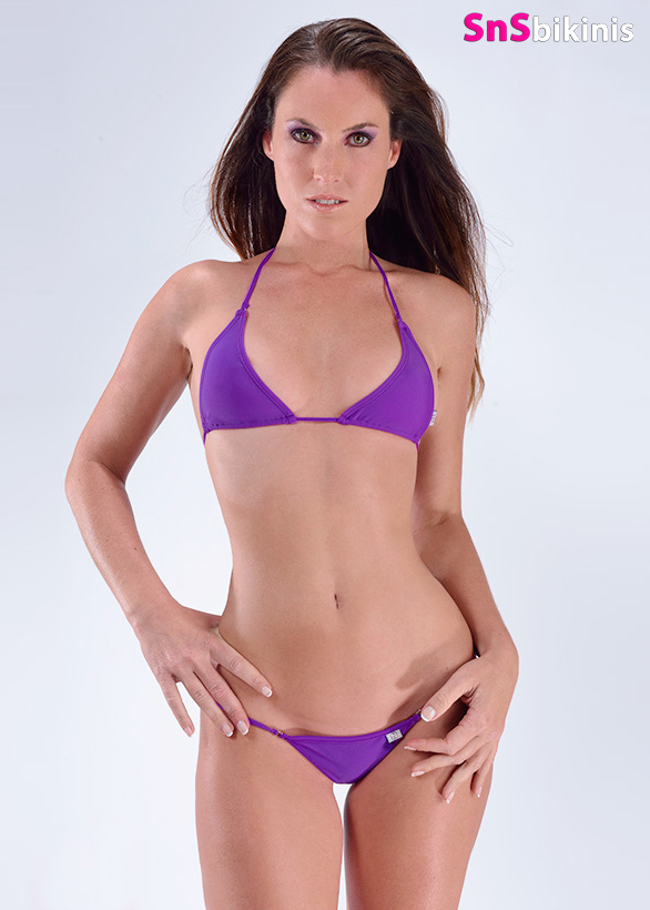 POISON Sensual Mini Bikini Triangle Thong
