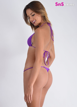 PRECIOSA Sexy Triangle Thong Mini Bikini