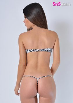 SAVANNAH Hot Strappless One Piece Swimwear