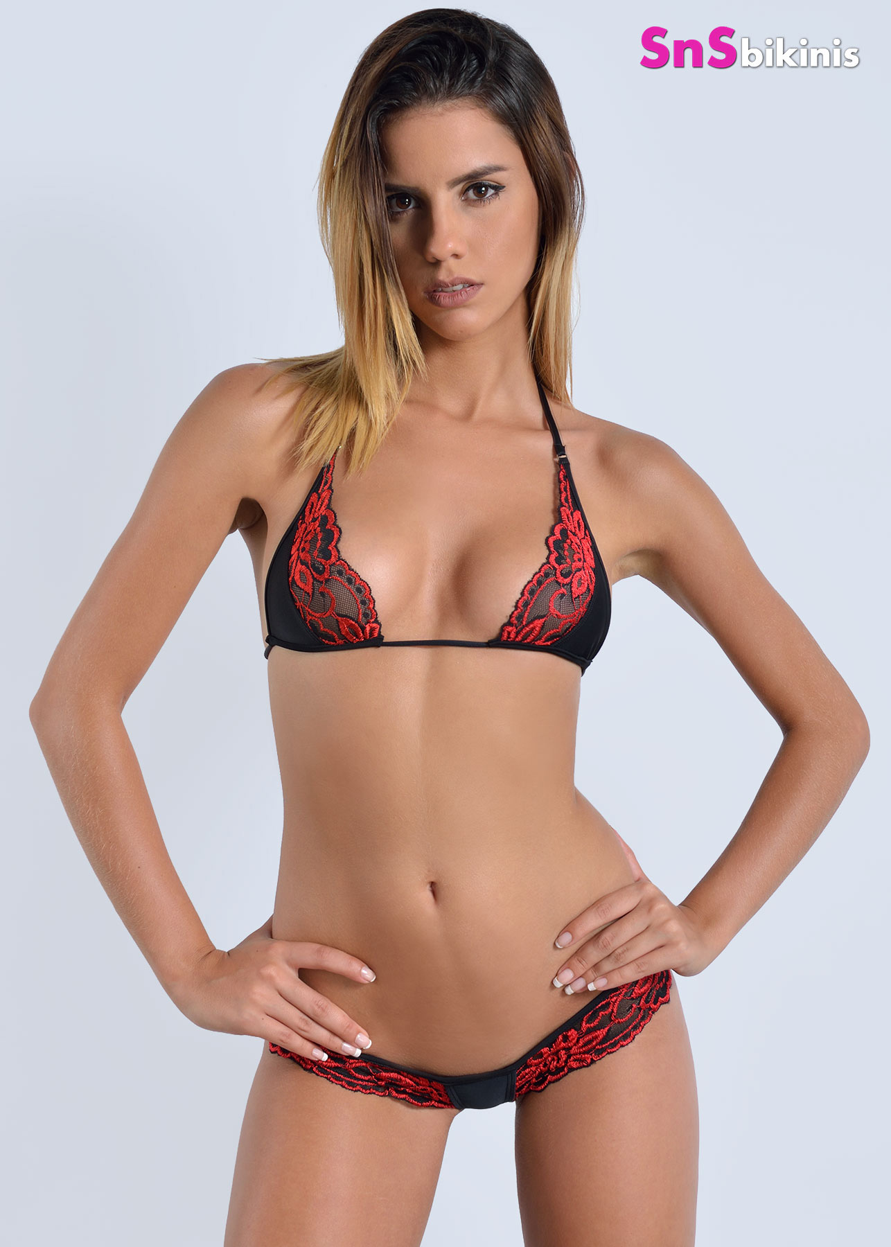 SEDUCTION Very Sexy Hot Red Lingerie