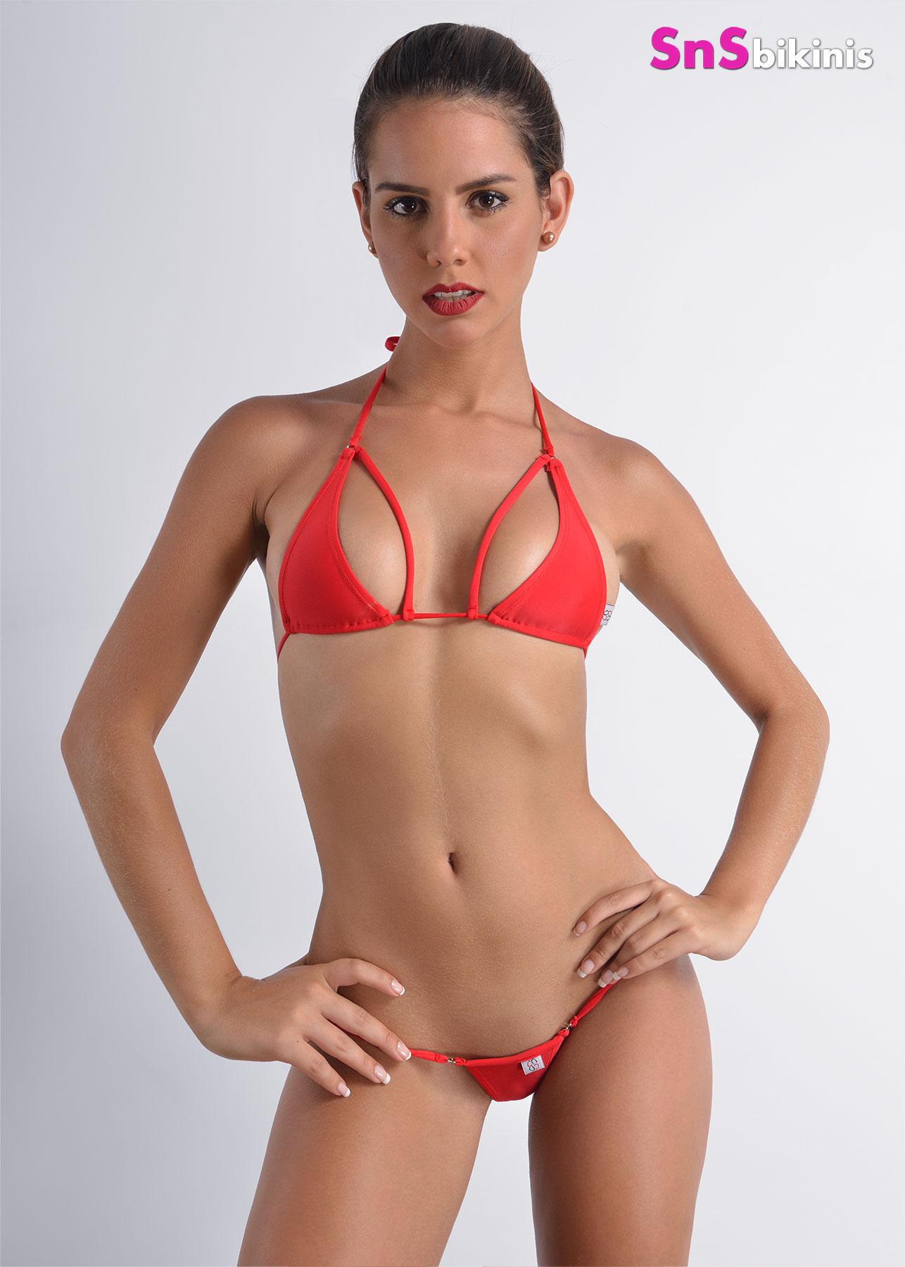 TRACY Sexy Triangle Thong Bikini [KBRC001 1 PITA+ PT817AA ...