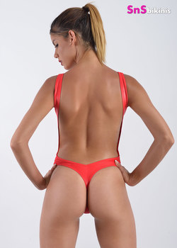 VENUS Hot Baywatch Style Shiny Swimsuit