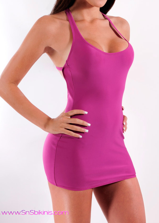 VERONICA Hot Mini Dress Clubwear
