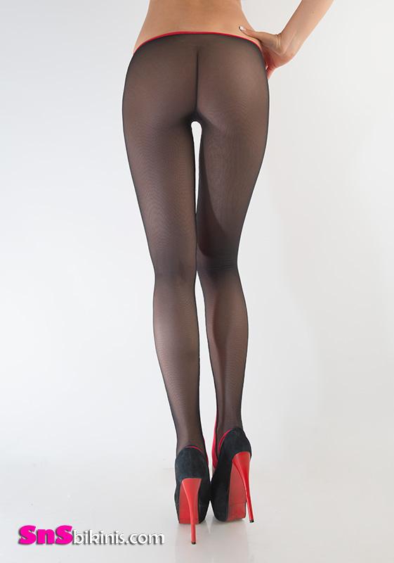 Yvette Sexy Translucent Legging Yyabig001 54 40